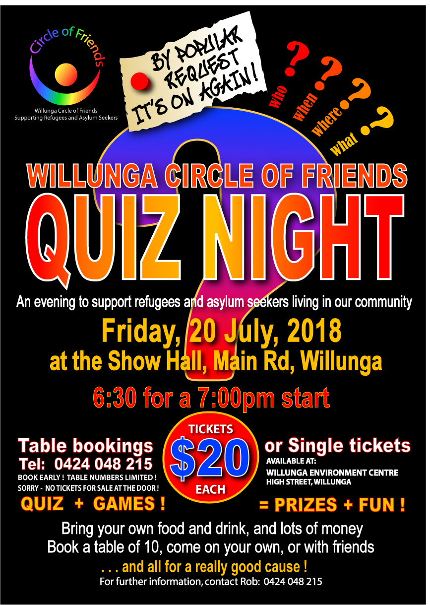 Quiz Night Poster 2018 1